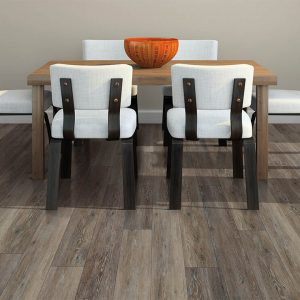 Small dining table on Vinyl flooring | Kopp's Carpet & Decorating