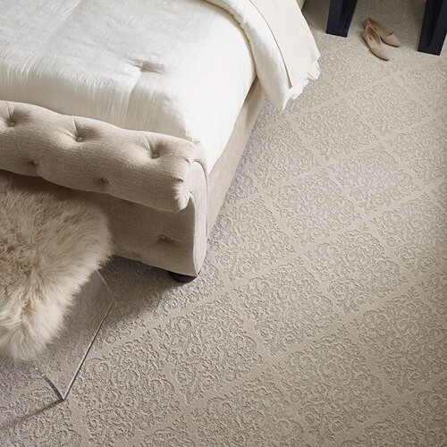 Urban glamour bedroom carpet | Kopp's Carpet & Decorating