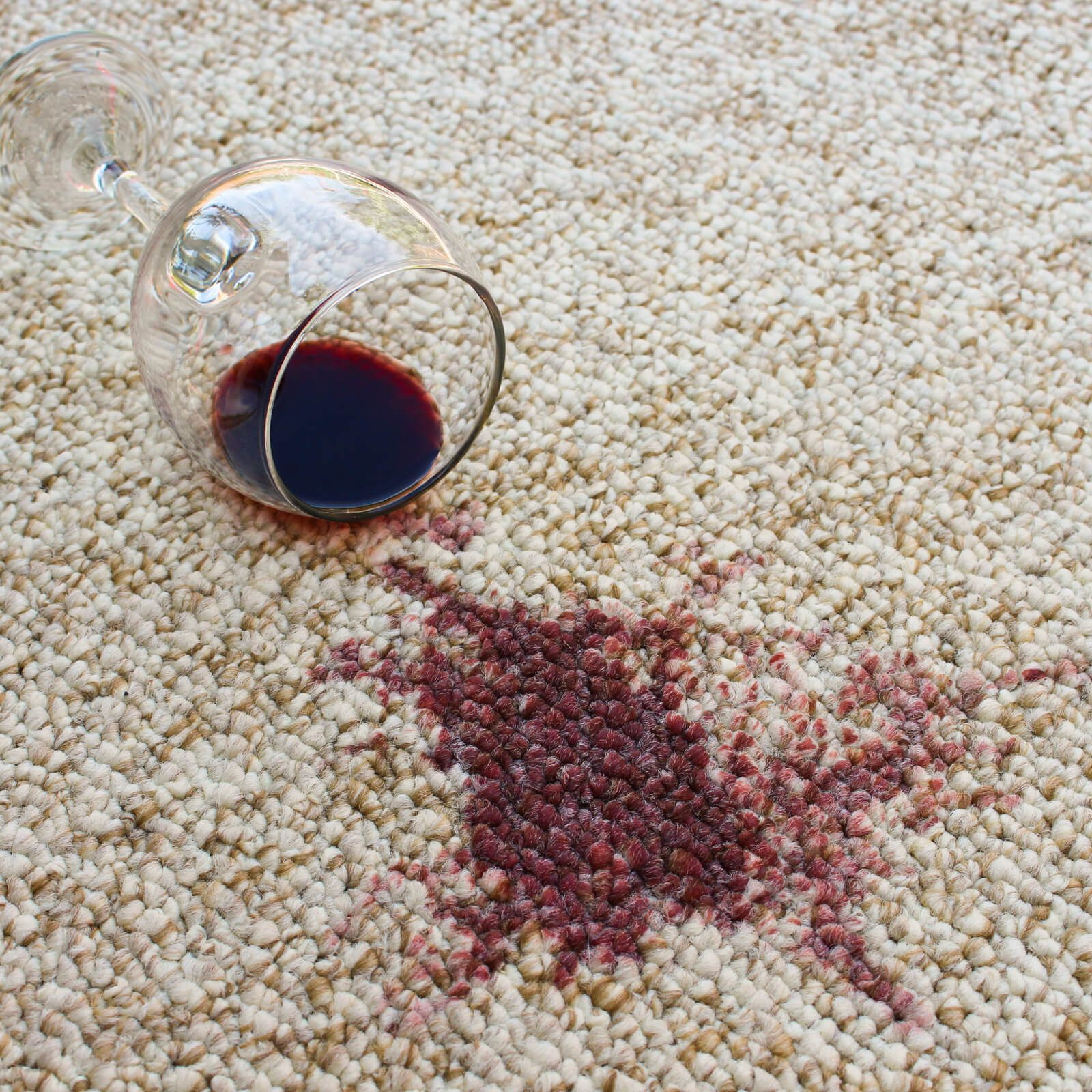 Wine stain on Carpet | Kopp's Carpet & Decorating