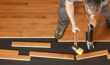 Hardwood installation | Kopp's Carpet & Decorating