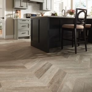 Glee Chevron wall Boca Hex Pol | Kopp's Carpet & Decorating