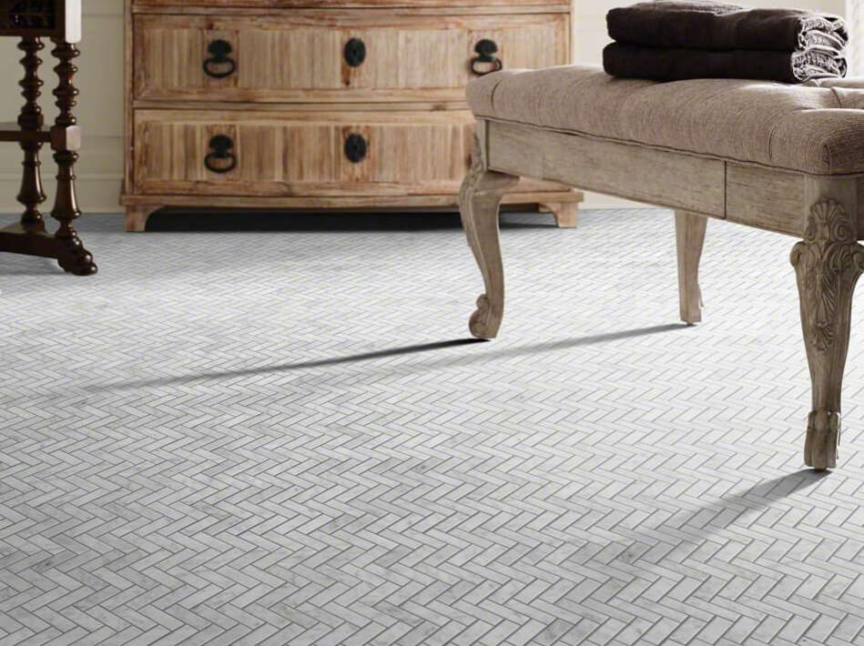 After Installation of tile | Kopp's Carpet & Decorating