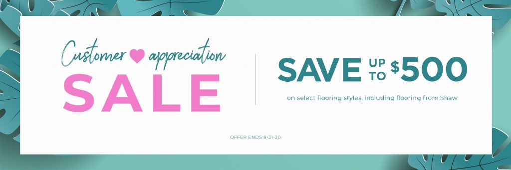 Customer Appreciation Sale | Kopp's Carpet & Decorating