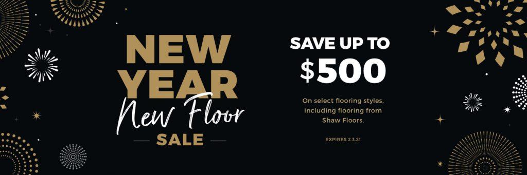 New Year New Floors Sale | Kopp's Carpet & Decorating