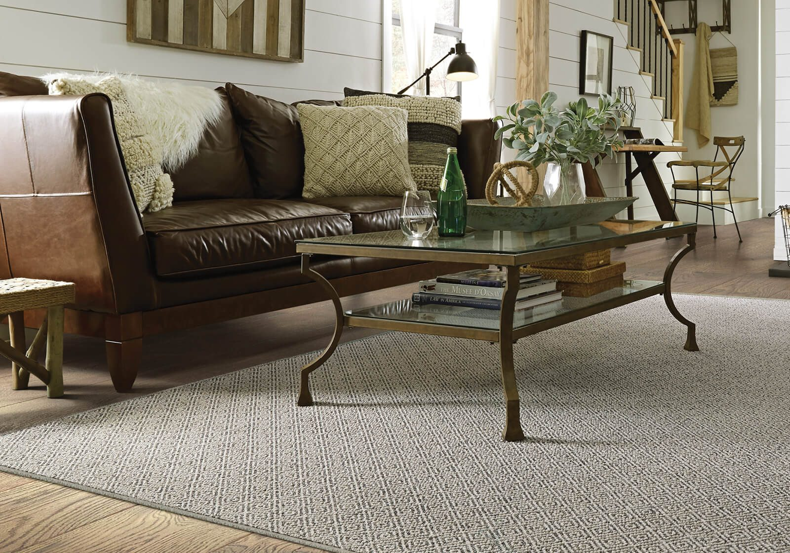 Custom area rug from carpet | Kopp's Carpet & Decorating